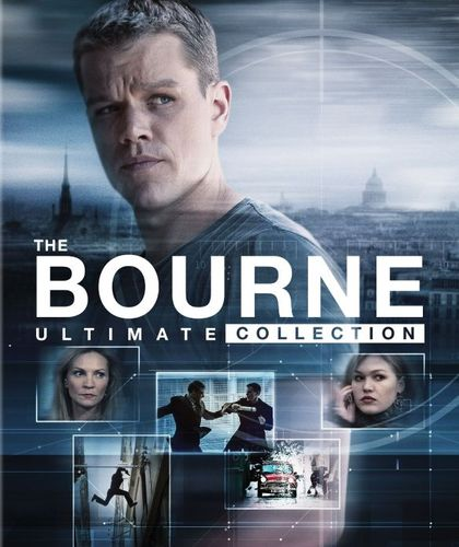 The Bourne Ultimate Collection [Blu-ray] [5 Discs] 5572905