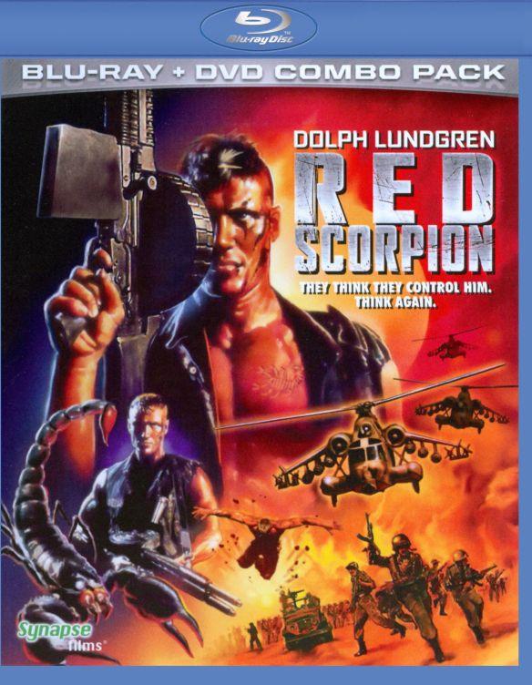 Red Scorpion [2 Discs] [Blu-ray/DVD] [1989] 5575087