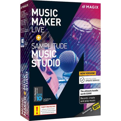 Music Maker Live & Samplitude Music Studio - Windows