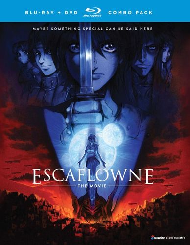 Escaflowne: The Movie [Blu-ray/DVD] [2 Discs] [2000] 5577205
