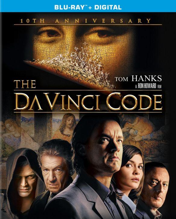 The Da Vinci Code [10th Anniversary Edition] [Blu-ray] [2 Discs] [2006] 5577391