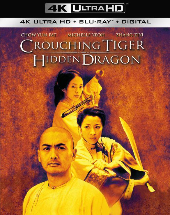 Crouching Tiger, Hidden Dragon [4K Ultra HD Blu-ray/Blu-ray] [UltraViolet] [Includes Digital Copy] [2000] 5577392