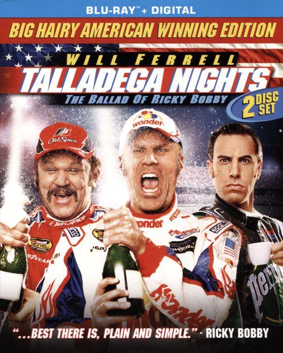 Talladega Nights: The Ballad of Ricky Bobby [Blu-ray] [2 Discs] [2006] 5577396