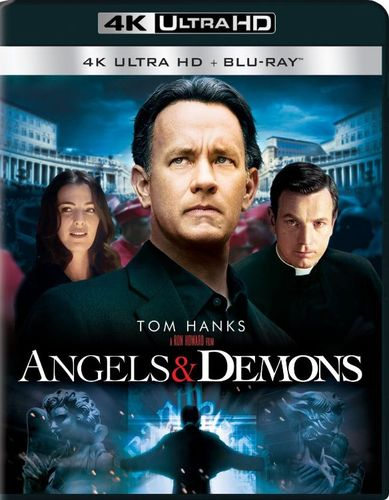 Angels & Demons [4K Ultra HD Blu-ray/Blu-ray] [UltraViolet] [Includes Digital Copy] [2009] 5577401