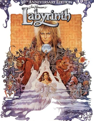 Labyrinth [Anniversary Edition] [Includes Digital Copy] [UltraViolet] [Blu-ray] [1986] 5577402