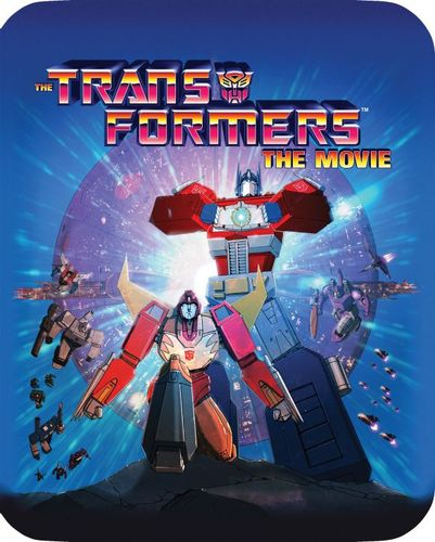 The Transformers: The Movie [30th Anniversary Edition] [Blu-ray] [SteelBook] [1986] 5577445