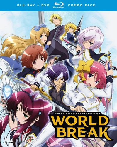 World Break: Aria of Curse for a Holy Swordsman - The Complete Series [Blu-ray] 5577461