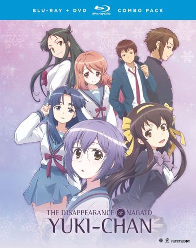 The Disappearance of Nagato Yuki-Chan: The Complete Series [Blu-ray] 5577462