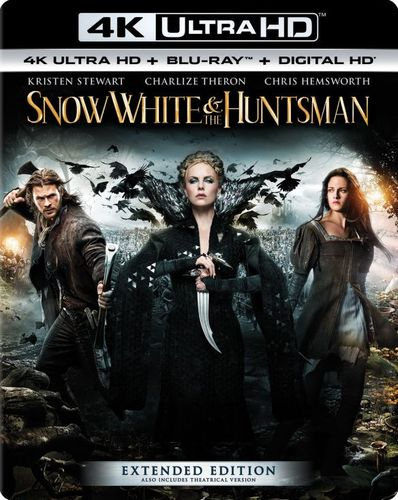 Snow White and the Huntsman [4K Ultra HD Blu-ray/Blu-ray] [Includes Digital Copy] [UltraViolet] [2012] 5577466