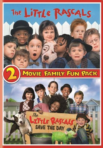 2 Movie Family Fun Pack: The Little Rascals/The Little Rascals Save the Day [2 Discs] [DVD] 5577478