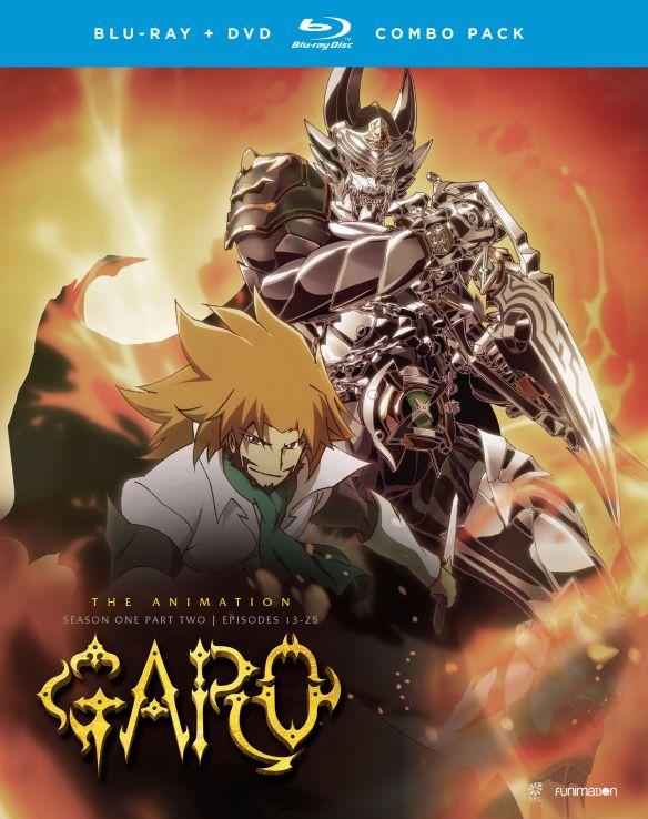 Garo the Animation: Season One, Part Two [Blu-ray] [4 Discs] 5577479
