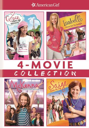 American Girl: 4-Movie Collection [4 Discs] [DVD] 5577502