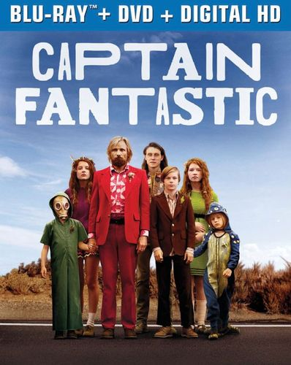 Captain Fantastic [Includes Digital Copy] [UltraViolet] [Blu-ray] [2016] 5577503