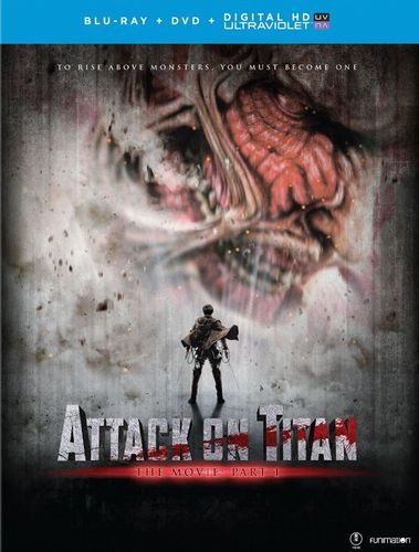 Attack on Titan: The Movie - Part 1 [Blu-ray/DVD] [2 Discs] [2015] 5577504
