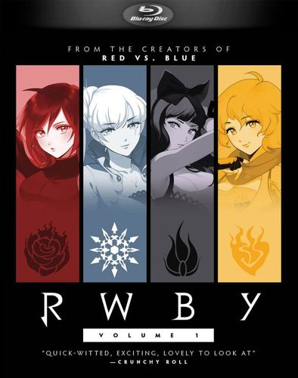 RWBY: Vol. 1 [Blu-ray] 5577747
