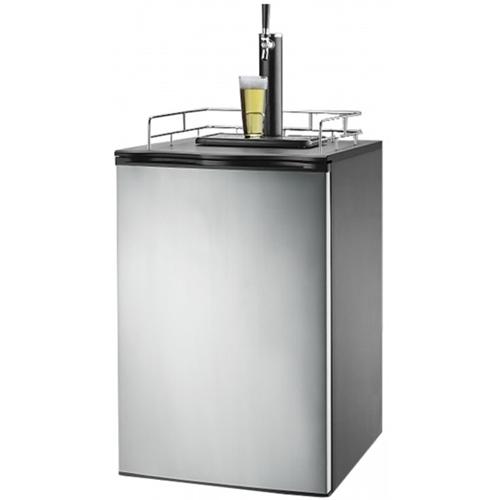 Igloo - 6.1 cu. ft. Kegerator Beer Bar - Stainless steel 5577803
