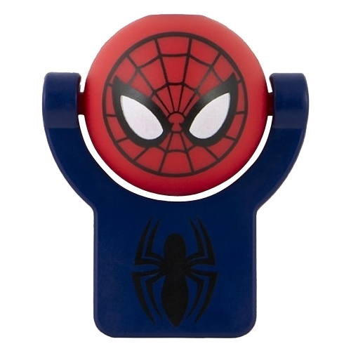 Jasco - Projectables LED Plug-In Night Light, Marvel Ultimate Spider-Man - Red 5578299