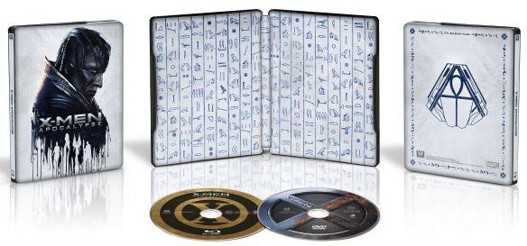 X-Men: Apocalypse [Includes Digital Copy] [Blu-ray/DVD] [SteelBook] [Only @ Best Buy] [2016] 5578656