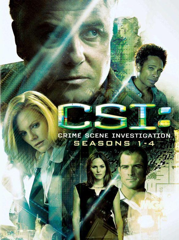 CSI: Crime Scene Investigation - Seasons 1-4 [DVD] 5578857