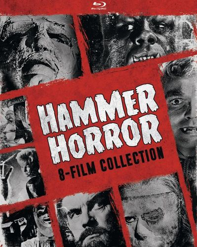 Hammer Horror: 8-Film Collection [Blu-ray] [4 Discs] 5578899