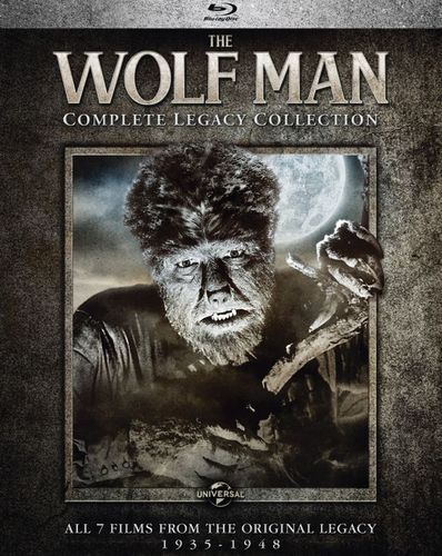 The Wolf Man: Complete Legacy Collection [Blu-ray] [8 Discs] 5578901