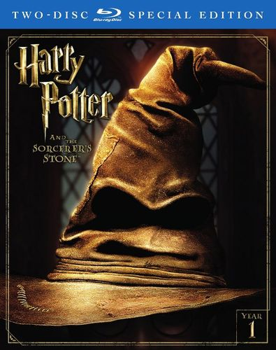 Harry Potter and Sorcerer's Stone [Blu-ray] [2 Discs] [2001] 5578974