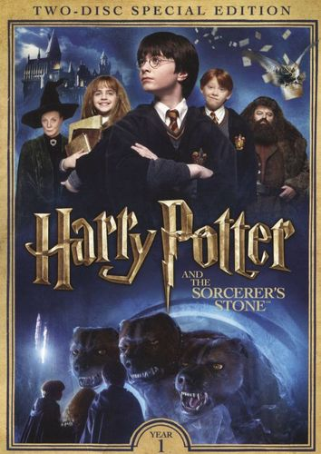 Harry Potter and the Sorcerer's Stone [2 Discs] [DVD] [2001] 5578983