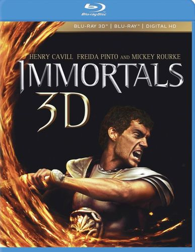 Immortals [Blu-ray] [Blu-ray 3D] [2011] 5579151