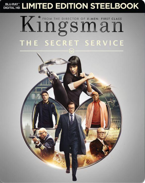 The Kingsman: The Secret Service [Includes Digital Copy] [Blu-ray] [SteelBook] [2015] 5579315