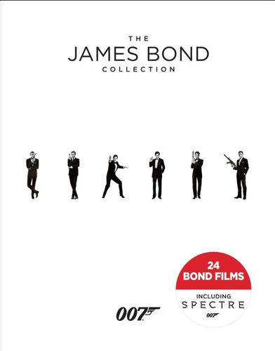 The James Bond Collection [Blu-ray] [24 Discs] 5579333