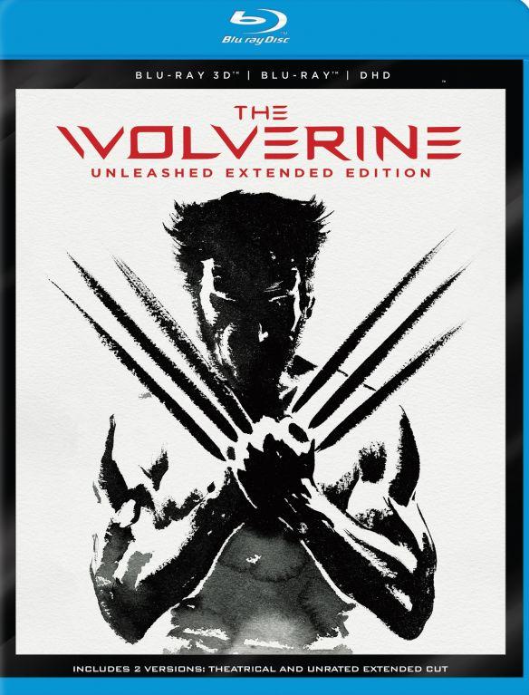 The Wolverine [3D] [Blu-ray/DVD] [2 Discs] [Blu-ray/Blu-ray 3D/DVD] [2013] 5579349