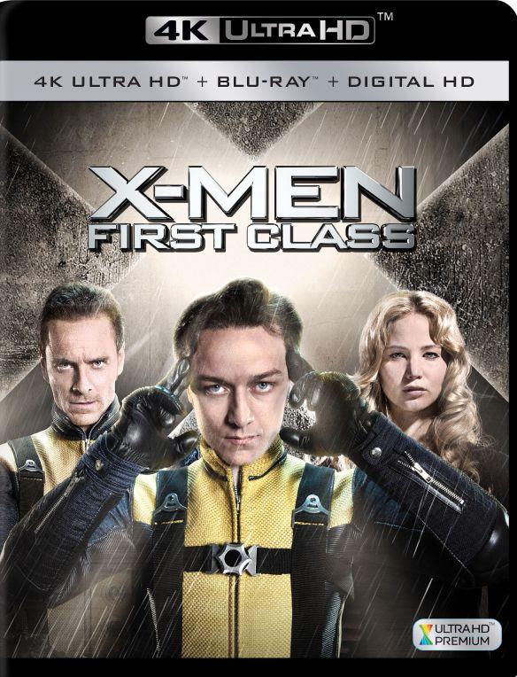 X-Men: First Class [4K Ultra HD Blu-ray/Blu-ray] [2011] 5579355