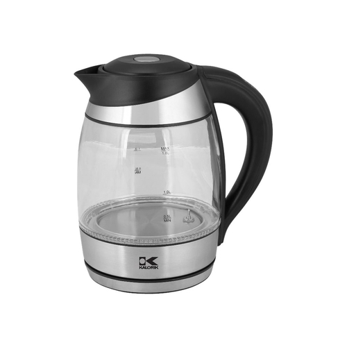 Kalorik - Electric Kettle - Black/stainless steel 5579739