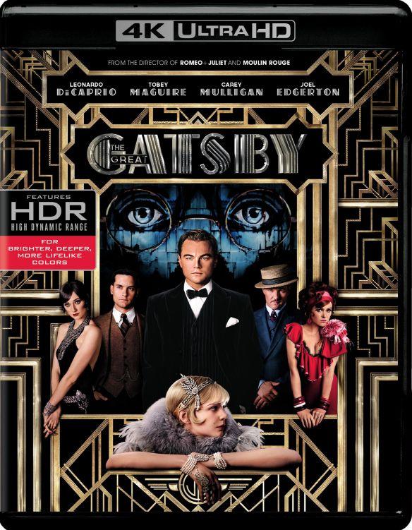 The Great Gatsby [Includes Digital Copy] [4K Ultra HD Blu-ray/Blu-ray] [2013] 5579813