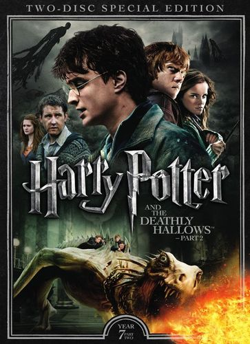 Harry Potter and the Deathly Hallows, Part 2 [2 Discs] [DVD] [2011] 5579839