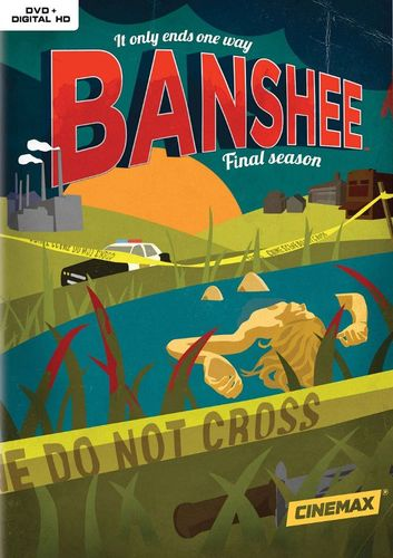 Banshee: The Complete Fourth Season [3 Discs] [DVD] 5579844