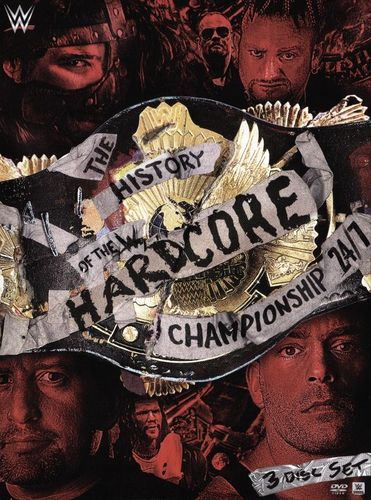 WWE: The History of the WWE Hardcore Championship - 24/7 [DVD] [2016] 5579853