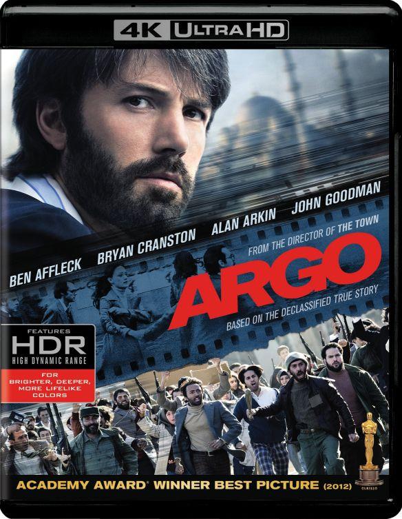 Argo [4K Ultra HD Blu-ray/Blu-ray] [UltraViolet] [Includes Digital Copy] [2012] 5580044