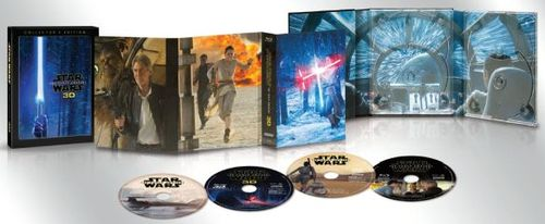 Star Wars: The Force Awakens [3D] [Includes Digital Copy] [Blu-ray/DVD] [Blu-ray/Blu-ray 3D/DVD] [2015] 5580136