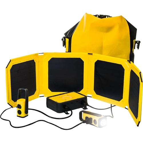 WakaWaka - Base 10 10,000 mAh Portable Charger - Yellow 5580173