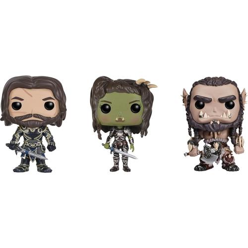 Funko - Warcraft POP! Movies Collectors Set: Lothar, Garona and Durotan 5580269