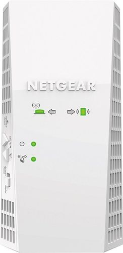 NETGEAR - Nighthawk AC1900 Dual-Band Wi-Fi Range Extender - White