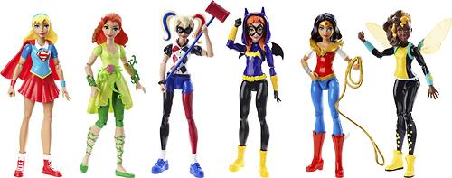 """Mattel - DC Super Hero Girls 6"""" Action Figure - Assorted 5580337"""