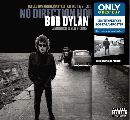 No Direction Home [10th Anniversary Deluxe Edition] [Only @ Best Buy] [Blu-Ray Disc] [PA] 5580451