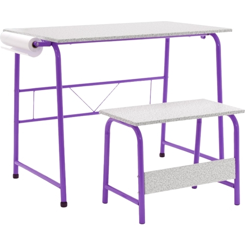 Craft Desk - Purple - Studio Designs