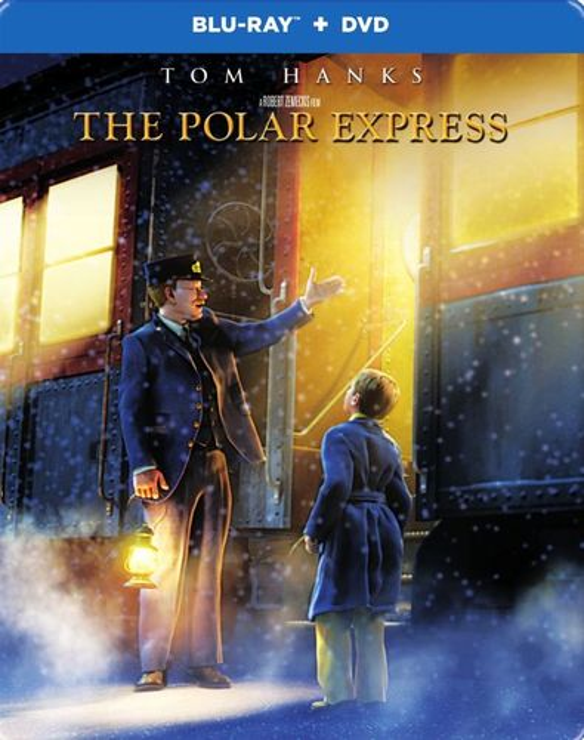 The Polar Express [SteelBook] [Blu-ray/DVD] [2 Discs] [2004] 5580930
