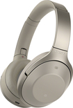 Sony - 1000x Wireless Noise Cancelling Headphones - Grey Bei
