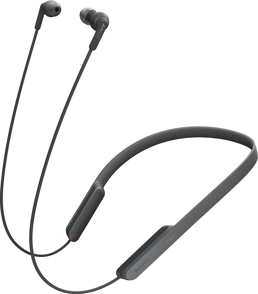 Sony - XB70BT Extra Bass Wireless In-Ear Headphones - Black