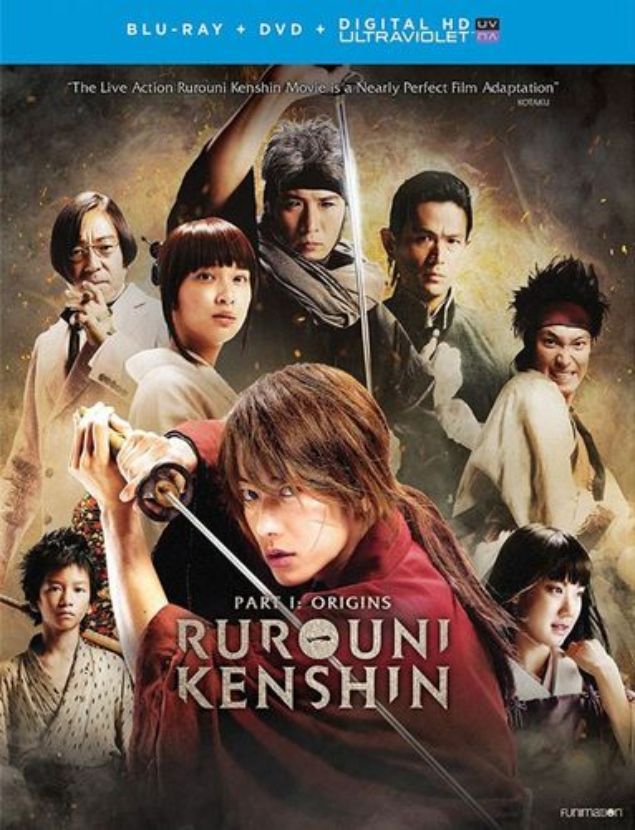 Rurouni Kenshin: Part I - Origins [Blu-ray/DVD] [2 Discs] [2012] 5581524
