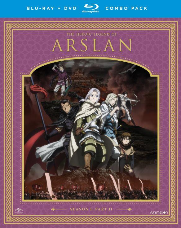 The Heroic Legend of Arslan: Season One - Part Two [Blu-ray] 5581526